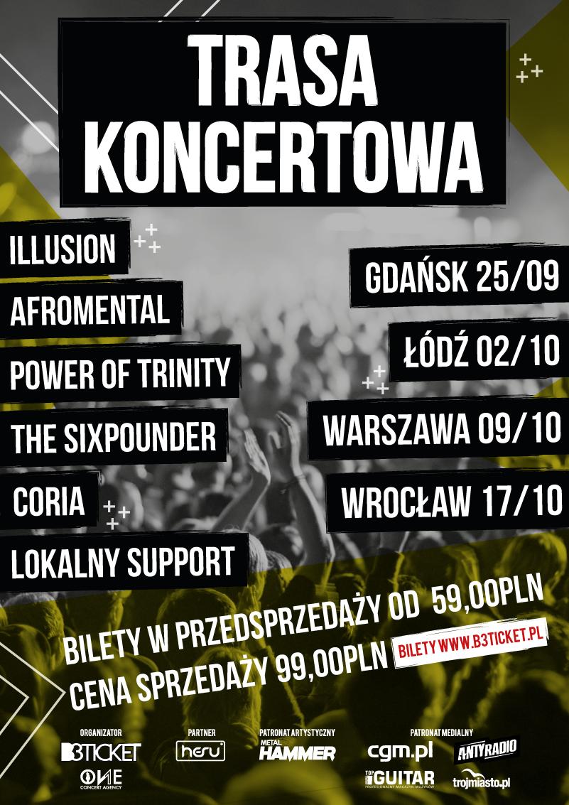 Plakat Trasa Koncertowa